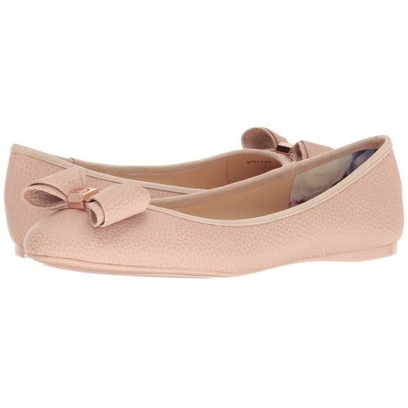 40052b12d21e4b Ted Baker Immet Pink Ballet Flat NWT